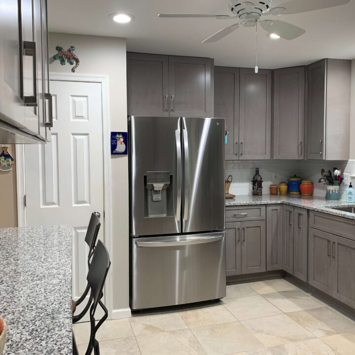 Chantilly kitchen cabinets