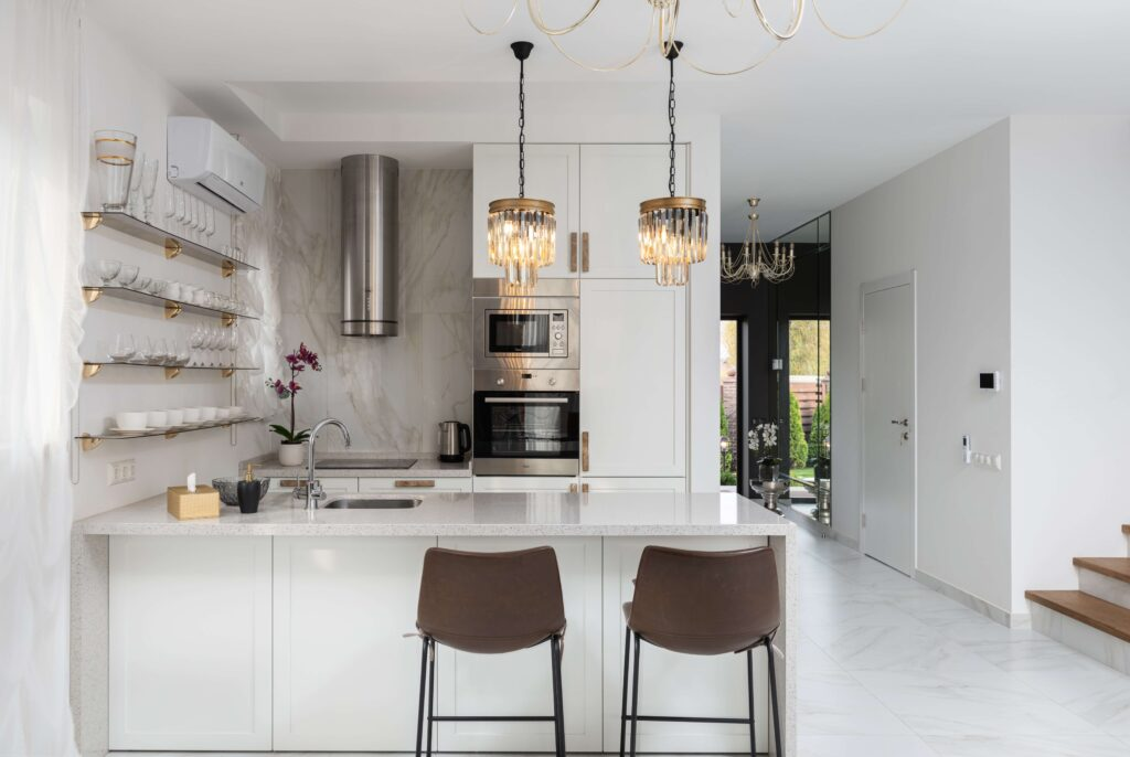white kitchen cabinet design ideas