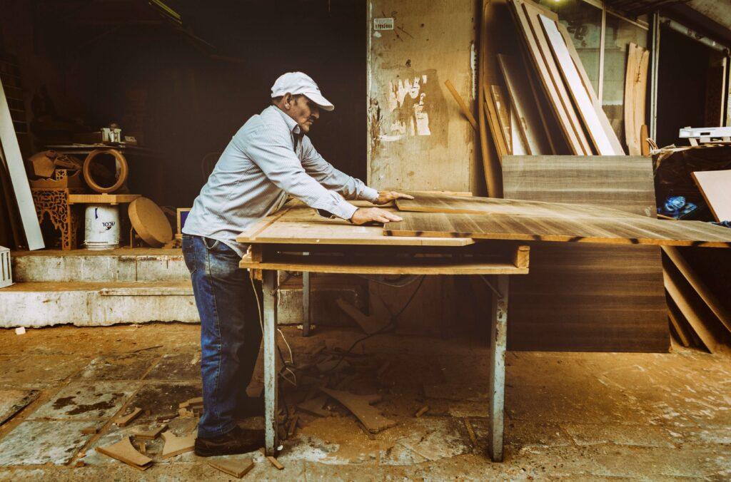 cabinet wood work