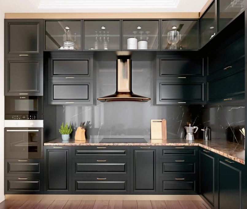 black cabinet design ideas